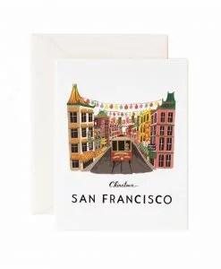 Carte Rifle Paper Co San Francisco