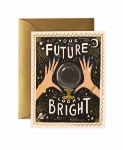 Carte Rifle Paper Co Your Future looks bright