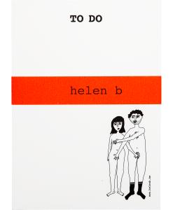 Bloc-notes Naked couple Helen B