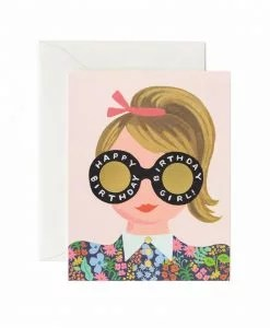 Carte anniversaire Rifle Paper Meadow Birthday girl