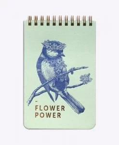 Bloc-notes Flower Power Les Editions du Paon