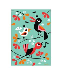 Affiche Oiseaux Ingela P. Arrhenius – OMM Design
