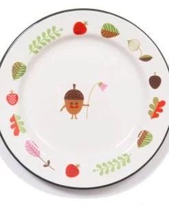Assiette émaillée Ingela P Arrhenius / Omm Design Gland