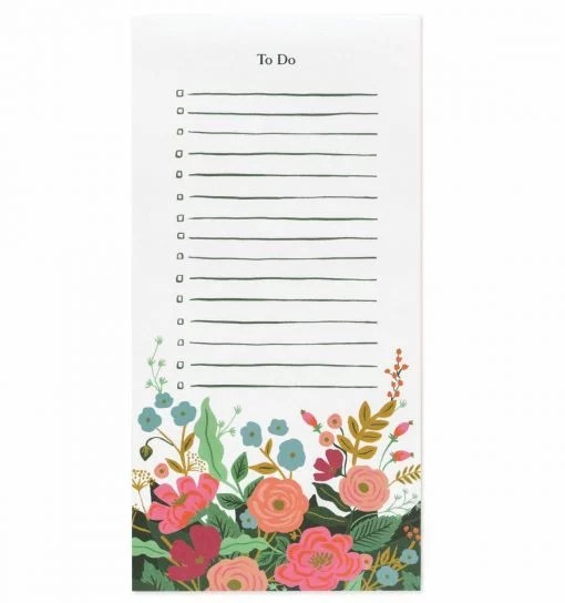 Bloc notes Rifle Paper Co Floral vines