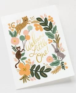 Carte enfant Rifle Paper Menagerie baby