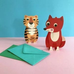 carte-enfant-tigre-lion-ingela-arrhenius