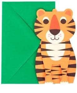Carte Pop up Tigre Ingela Arrhenius