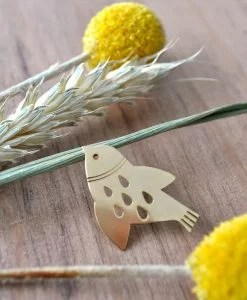 Pin's oiseau doré Mini Labo
