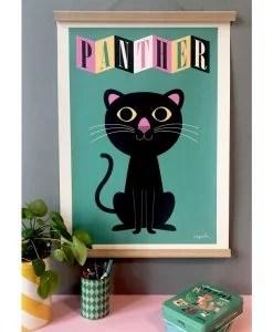 Affiche Panthère Ingela P. Arrhenius – OMM Design