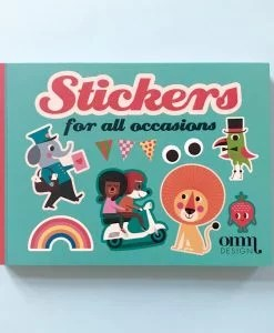 Livre stickers Ingela Arrhenius / Omm Design