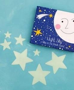 Etoiles phosphorescentes Rex – 30 stickers étoiles