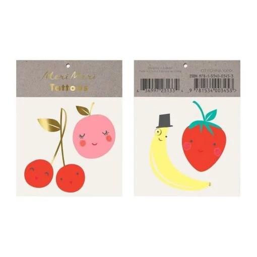 Tatouages Meri Meri Happy fruits