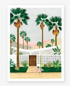 Affiche Palmsprings All the Ways to Say – Format au choix