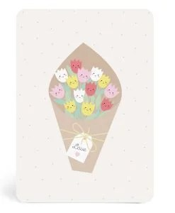 Carte bouquet Zü