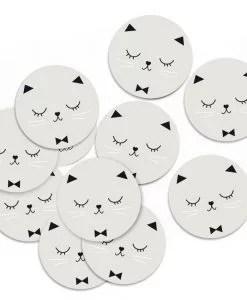 Stickers chat Zü Lot de 10