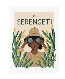 Affiche Rifle Paper The Serengeti