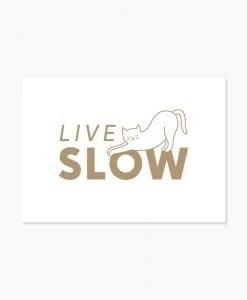 Carte Live slow Audrey Jeanne