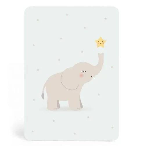 Carte éléphant ZÜ