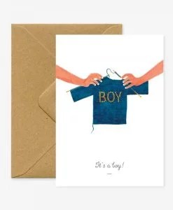 Carte naissance It's a boy All The Ways To Say