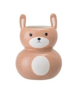 Pot / vase lapin visage Bloomingiville