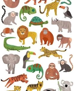 Tatouages éphémères Jungle animals Petit Monkey