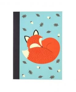 Carnet renard Rex Rusty the fox