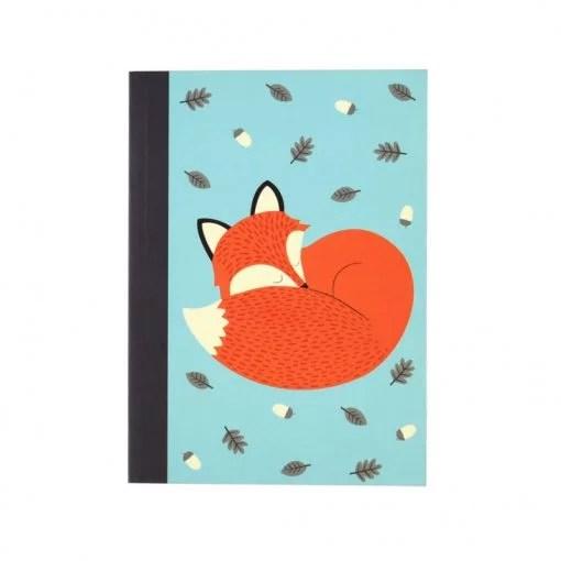 Carnet renard Rex Rusty the fox