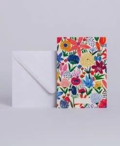 Carte Fleurs sauvages Season Paper
