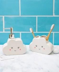 Porte brosse à dents nuage Sass and Belle
