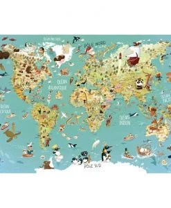 Puzzle carte du monde Vilac