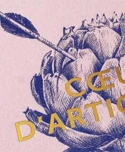Affiche Coeur d'artichaut Les Editions du Paon rose