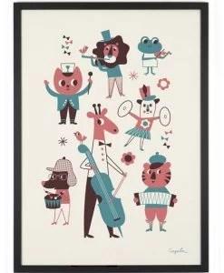 Affiche Orchestre Ingela Arrhenius – Omm Design