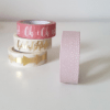 masking tape rose poudre