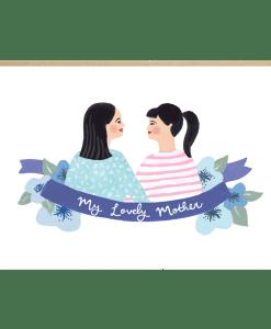 Carte maman Jade Fisher Amour de maman