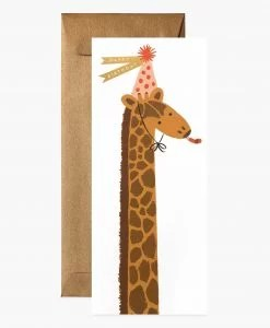 Carte anniversaire Girafe Rifle Paper Co