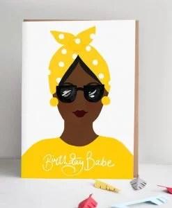Carte anniversaire Nadiya Jade Fisher