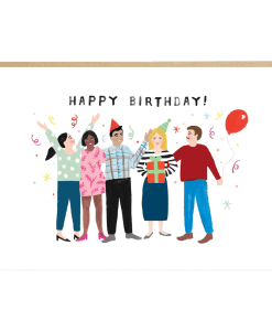 Carte anniversaire Party Jade Fisher