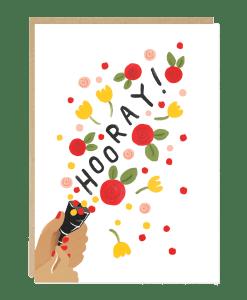 Carte félicitations Fiesta Jade Fisher
