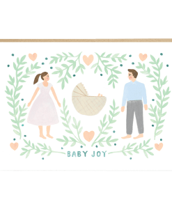 Carte naissance Baby Joy Jade Fisher