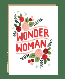 Carte maman Wonder Woman Jade Fisher