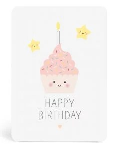 Carte anniversaire Gâteau Zü
