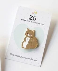 Pin's écureuil ZÜ