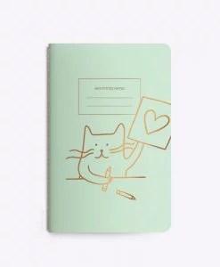 Carnet chat Cat artist Les Editions du Paon