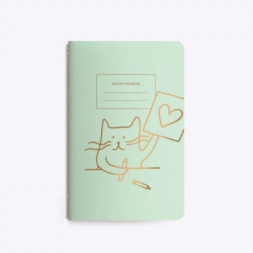 Carnet chat Cat artist Les Editions du Paon