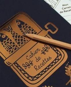 Carnet de recettes Sardines Les Editions du Paon