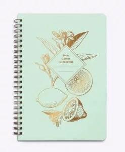 Carnet de recettes Lemonade Les Editions du Paon