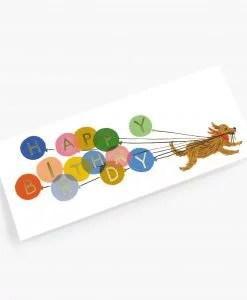 Carte anniversaire Birthday Ballon Rifle Paper Co