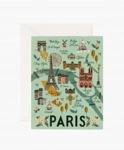 Carte Paris Rifle Paper Co