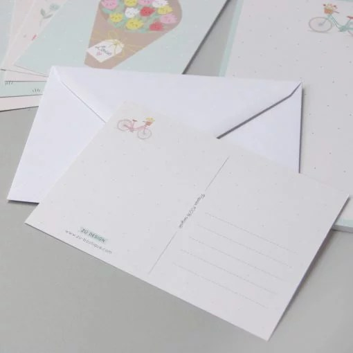 Coffret de correspondance Printemps Zü