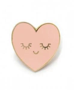 Pin's coeur rose ZÜ